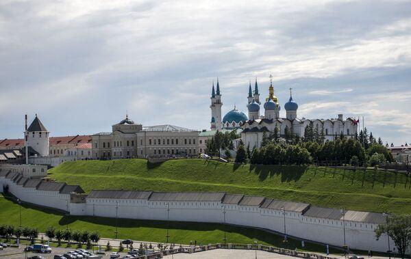 Kreml kazański - najstarsza część Kazania - Sputnik Polska