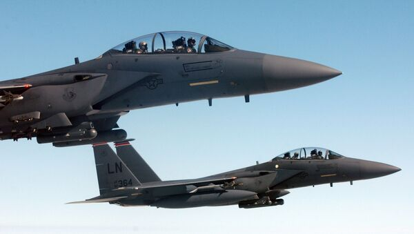 Amerykański myśliwiec F-15E - Sputnik Polska