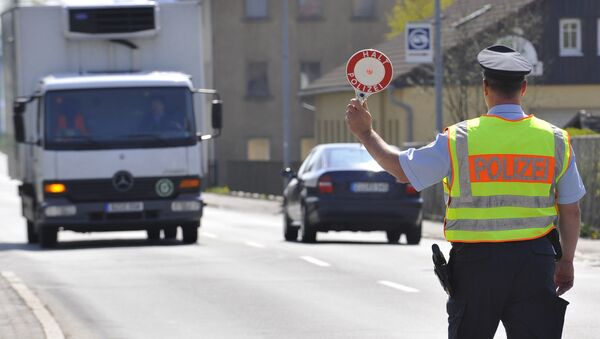 Policja, kontrola - Sputnik Polska