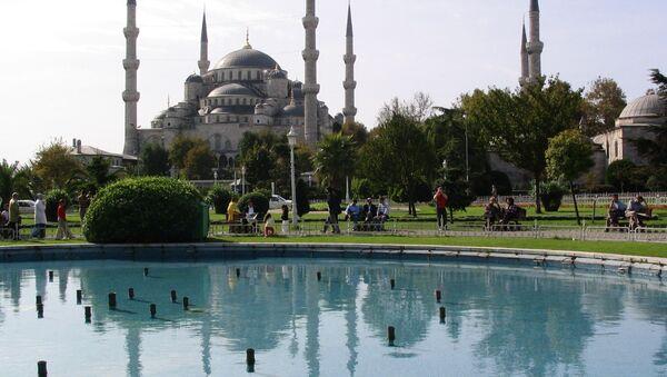 Błękitny Meczet w Istambule, Turcja - Sputnik Polska