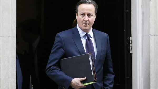 Premier Wielkiej Brytanii  David Cameron, 26.11.2015 - Sputnik Polska