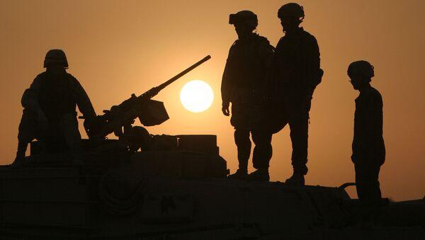 Amerykańscy żołnierze w Iraku - Sputnik Polska