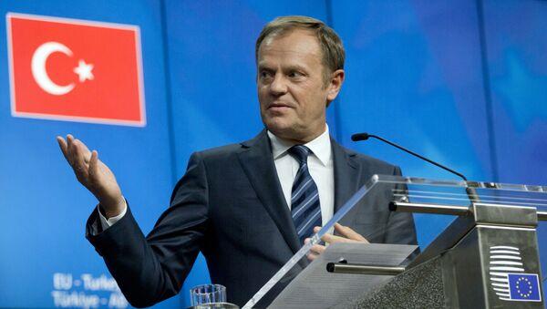 Szef Rady UE Donald Tusk - Sputnik Polska