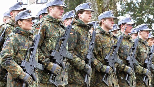 Żołnierze niemieckiej armii - Sputnik Polska