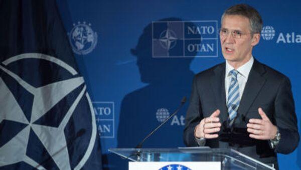 Sekretarz generalny NATO Jens Stolenberg - Sputnik Polska