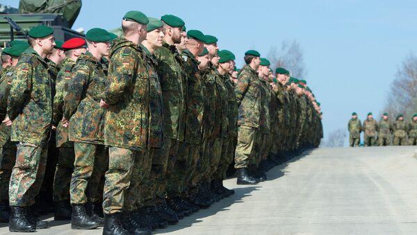 Niemieccy żołnierze - Sputnik Polska