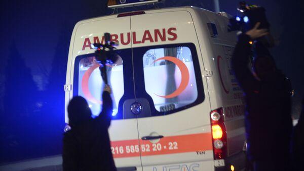 Pogotowie ratunkowe w Stambule - Sputnik Polska