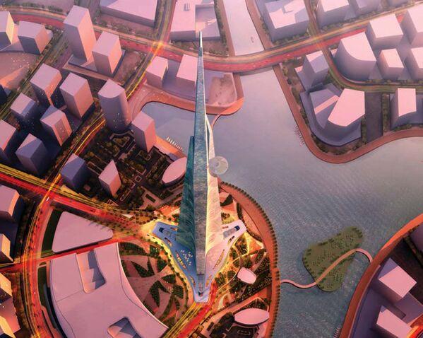 Projekt wieżowca Jeddah Tower w Arabii Saudyjskiej - Sputnik Polska