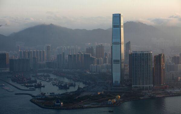 International Commerce Centre w Hongkongu - Sputnik Polska