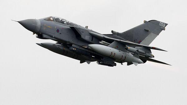Samolot Tornado brytyjskich sił powietrznych - Sputnik Polska
