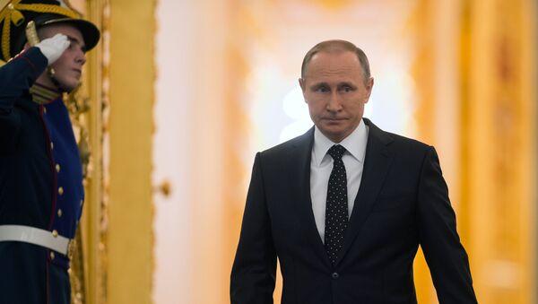 Orędzie prezydenta Władimira Putina do Zgromadzenia Federalnego - Sputnik Polska