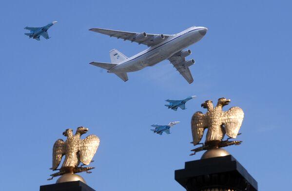 Samolot na dzień Sądu Ostatecznego. - Sputnik Polska