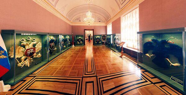 Sala wystawowa Pałacu Senackiego w Kremlu - Sputnik Polska
