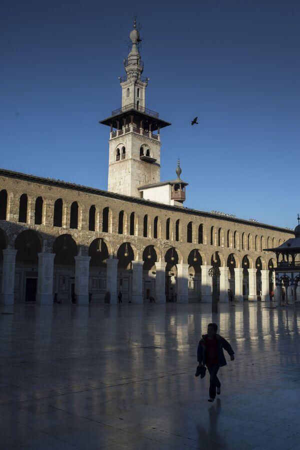 Widok na Meczet Umajjadów w Damaszku - Sputnik Polska