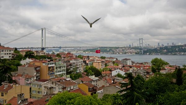Most przez Bosfor w Stambule - Sputnik Polska