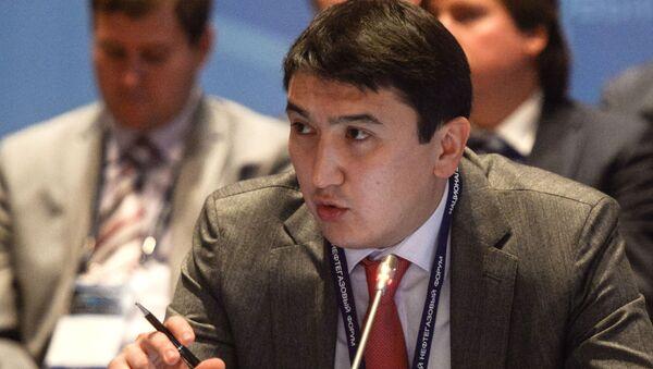 Wiceminister energetyki Kazachstanu Magzum Mirzagalijew - Sputnik Polska