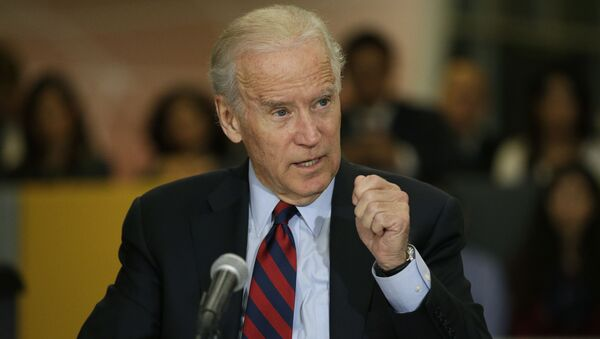 Wiceprezydent Ukrainy Joe Biden - Sputnik Polska