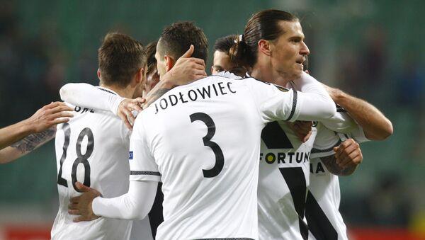 Piłkarze polskiego klubu Legia Warszawa - Sputnik Polska