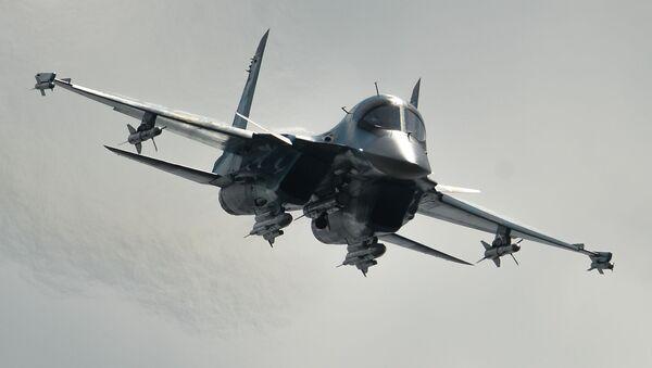 Samolot Su-34 - Sputnik Polska