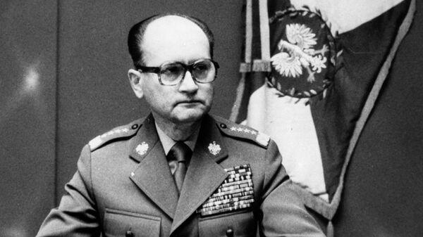 Ogłoszenie stanu wojennego - Wojciech Jaruzelski - Sputnik Polska