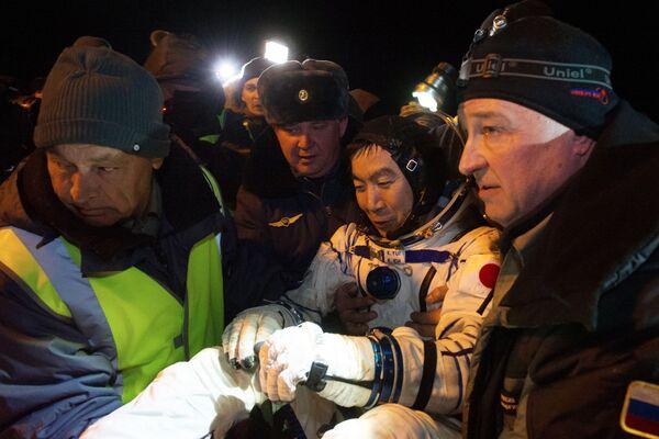 Japoński astronauta Kimiya Yui - Sputnik Polska
