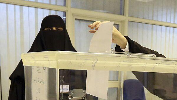 Wybory w Arabii Saudyjskiej - Sputnik Polska