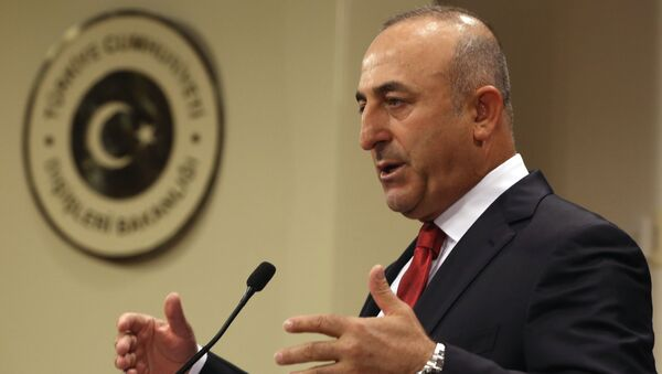 Minister spraw zagranicznych Turcji Mevlut Cavusoglu - Sputnik Polska