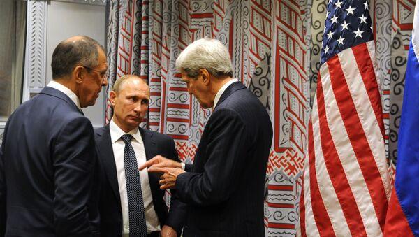 Prezydent Rosji Władimir Putin wziął udział w 70-tej sesji Zgromadzenia ogólnego ONZ - Sputnik Polska