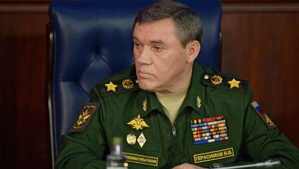 Szef Sztabu Generalnego Sił Zbrojnych Rosji Walerij Gierasimow w Moskwie - Sputnik Polska