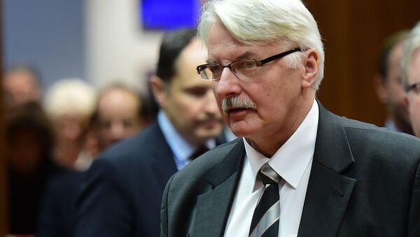 Witold Waszczykowski - Sputnik Polska