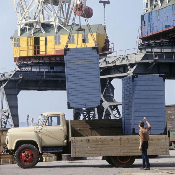 Ciężarówka GAZ-53A w Niżnym Nowogrodzie (zdjęcie archiwalne). - Sputnik Polska
