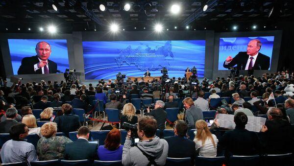 Russian President Vladimir Putin - Sputnik Polska