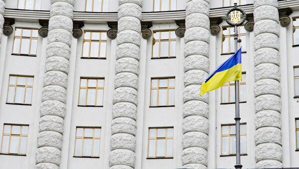Budynek rządu Ukrainy - Sputnik Polska
