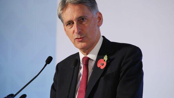 Minister spraw zagranicznych Wielkiej Brytanii Philip Hammond - Sputnik Polska