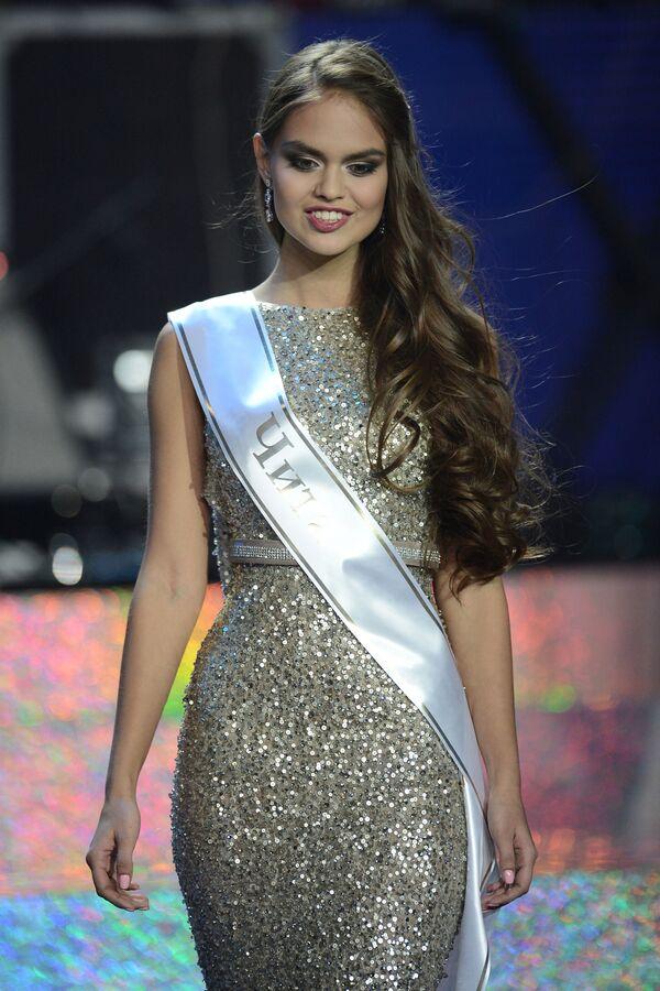 Pierwsza wicemiss narodowego konkursu Miss Rosja-2015 Władysława Jewtuszenko - Sputnik Polska