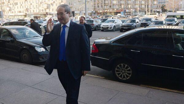 Wiceminister spraw zagranicznych Syrii Faisal Miqdad - Sputnik Polska