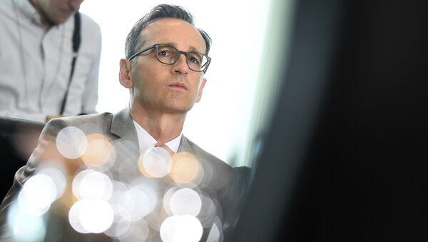 Minister sprawiedliwości Niemiec Heiko Maas - Sputnik Polska
