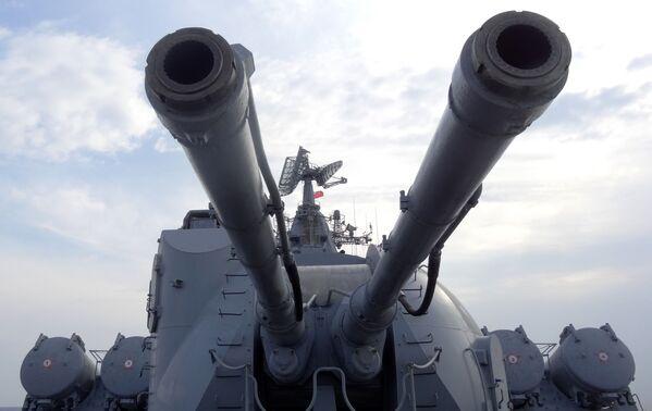 System artyleryjski rosyjskiego krązownika Moskwa - Sputnik Polska