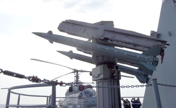 Rakiety przeciwlotnicze rosyjskiego krązownika Moskwa - Sputnik Polska