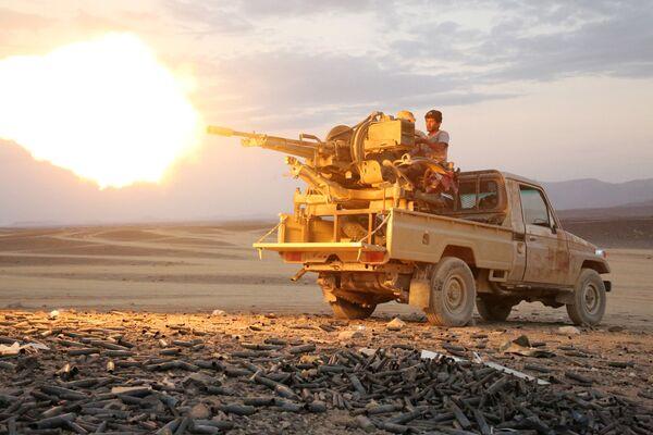 Wojna w Jemenie - Sputnik Polska
