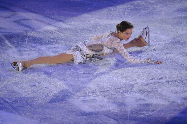 Rosjanka Jewgienija Miedwiediewa podczas Grand Prix w Barcelonie - Sputnik Polska