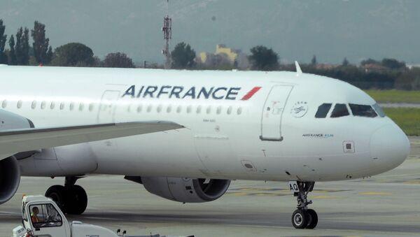 Awaryjne lądowanie samolotu Air France w Kenii - Sputnik Polska