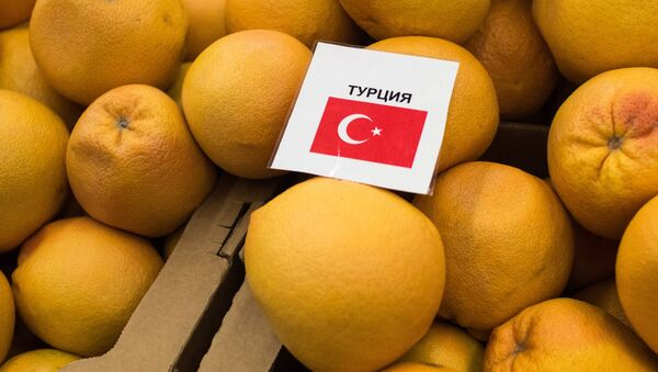 Tureckie mandarynki w sklepie w Omsku - Sputnik Polska
