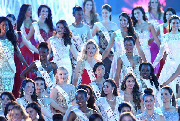 Uczestniczki konkursu Miss World 2015 w Chinach. - Sputnik Polska