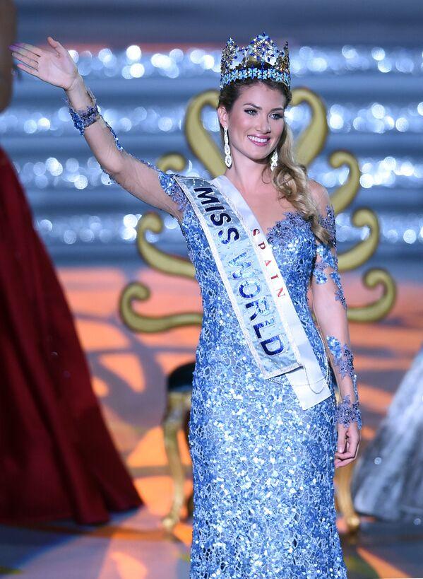 Miss World Mireia Lalaguna Rozo z Hiszpanii. - Sputnik Polska