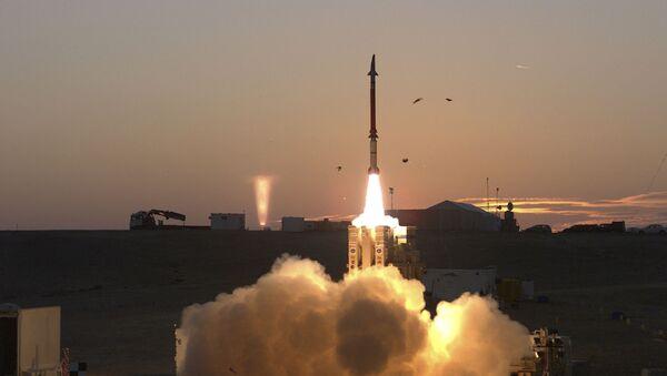 Start systemu obrony przeciwrakietowej David Sling w Izraelu - Sputnik Polska