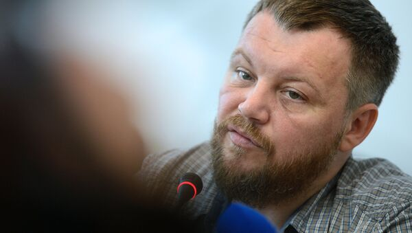 Przewodniczący Rady Ludowej DRL Andriej Purgin - Sputnik Polska