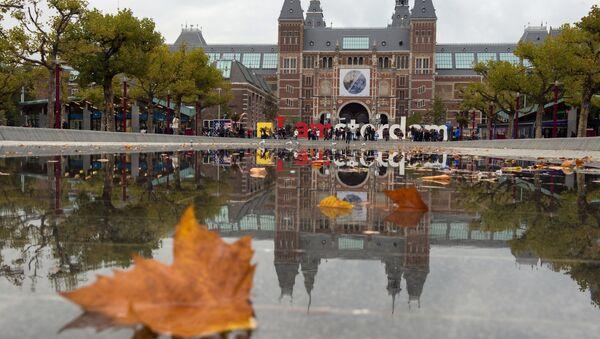 Holenderskie muzeum narodowe Rijksmuseum w Amsterdamie - Sputnik Polska