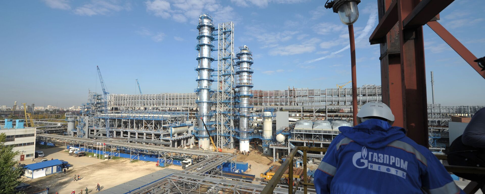 Rafineria koncernu Gazprom Nieft w Moskwie - Sputnik Polska, 1920, 07.10.2021