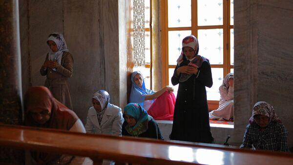 Kobiety w meczecie - Sputnik Polska
